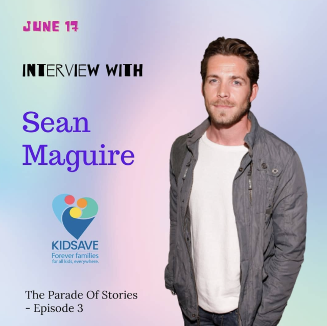 Sean Maguire Interview About Kidsave